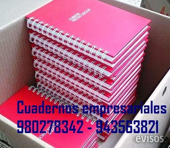 Cuaderno empresarial publicitario