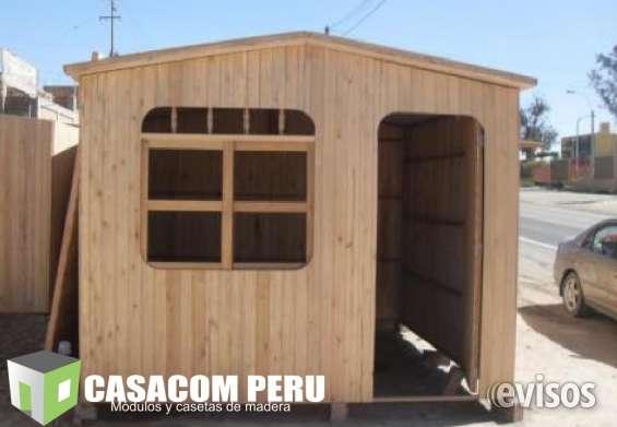 Modulos Prefabricados De Madera En Lima Peru En Lima Otros