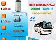 Promoción de repuestos sinomaq – bus  yutong urbano diesel 7mt – zk6720df
