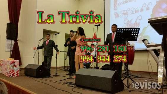 Fotos de Orquesta de lima orquesta la trivia música variada; salsa, cumbia, merengue, roc 6