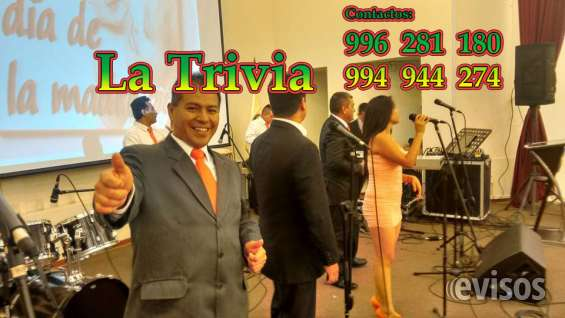 Fotos de Orquesta de lima orquesta la trivia música variada; salsa, cumbia, merengue, roc 3