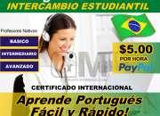 Curso de português personalizado online