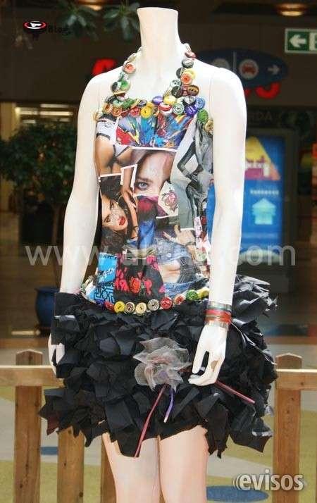 Disfraz reciclaje vestidos ecologicos