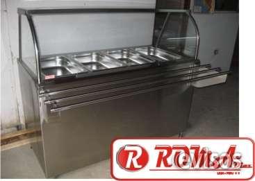 Tavola calda acero inox, refrigeración roma diaz