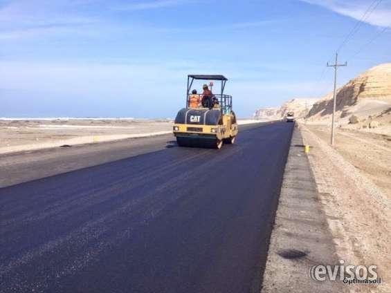 Servicio de asfaltado y venta de asfaltos líquidos y brea dura