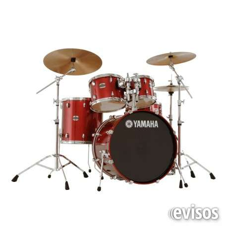 Bateria yamaha custon birch semiprofesional