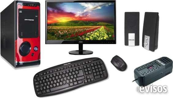 Computadoras nuevas escritorio amd a4 completas todo usos fuertes