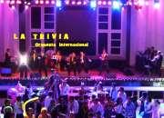 Orquesta Show En Lima Perú fiestas Matrimonios ORQUESTA LA TRIVIA