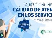 CURSO ONLINE CALIDAD DE ATENCIÓN EN SERVICIOS 2017