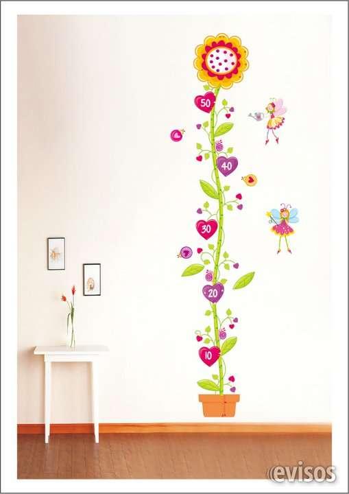 Vinil para decorar paredes, tallimetro para medir la altura de niños, medidas: 15 x 170 cm, producto importado de usa