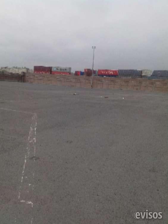 Callao alquilo almacenes dsde 10,000 m2 20,000 50,000 m2 piso concreto 2cm espesor, cerca