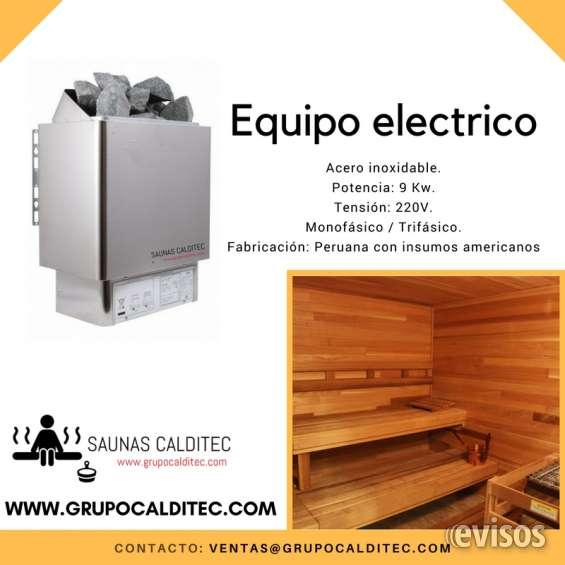 Sauna electrico
