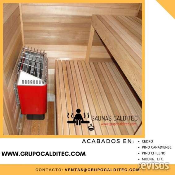 Diseños de cuartos sauna