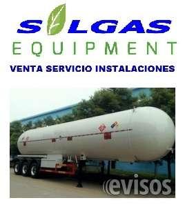 Tanque cisterna gas