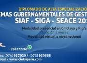 DIPLOMADO DE ALTA ESPECIALIZACIÓN EN LOS SISTEMAS GUBERNAMENTALES DE GESTIÓN PÚBLICA: SIAF