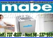 ¡!IMPARABLES¡!MABE=))7378107*reparaciones de lavadoras-secadoras=surco