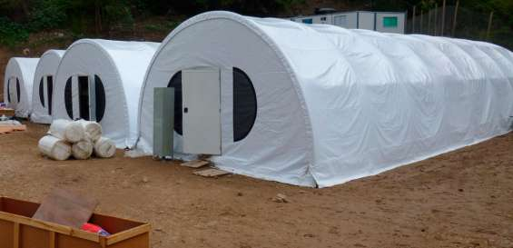 Lonas domoos campamentos mineros carpas toldos
