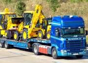 Transporte de carga alquiler de gruas y montacargas