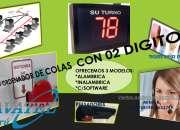 GESTION DE FILAS CON PANTALLA PE03 INALAMBRICA