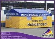 Carpas y Campamentos Publicitarios Asombra Peru