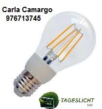 Foco led alto brillo 4 - 8 watts filamento promociones