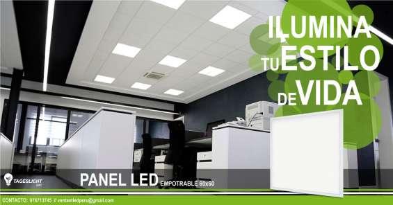 Paneles led alto brillo 60x60cm - 30x120cm promociones