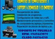 Reparacion computadoras y laptops a domicilio