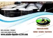 Asfalto liquido rc-250 en cilindros