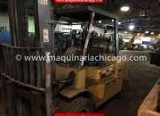 Montacargas caterpillar 11,000 lbs usado en venta