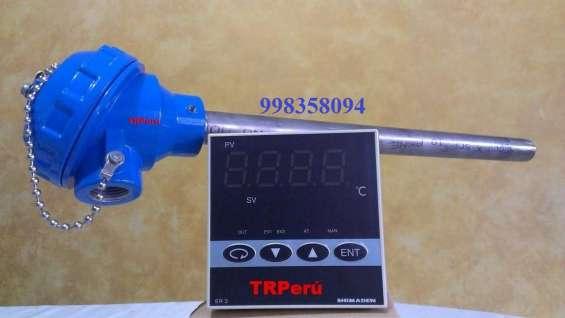 Sensores de temperatura pt100-rtd, de uso industrial