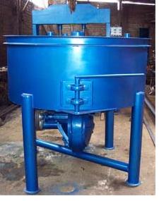 Mezcladora tipo batea para mezclas especiales para prefabricados de concreto, bloques y adoquines