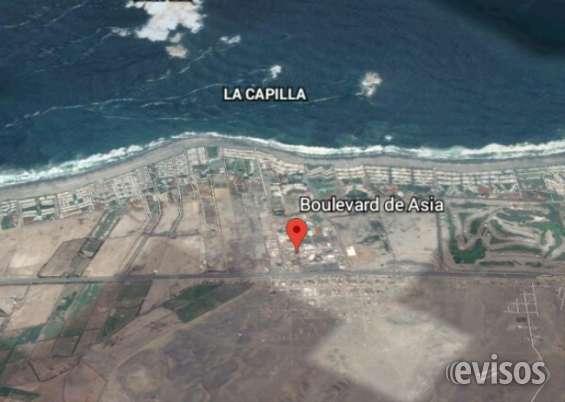 Terreno playa asia vendo