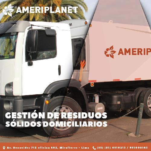 Ameriplanet: expertos en recolección y transporte de residuos sólidos domiciliarios