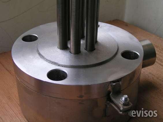 Resistencias eléctricas uso industrial.