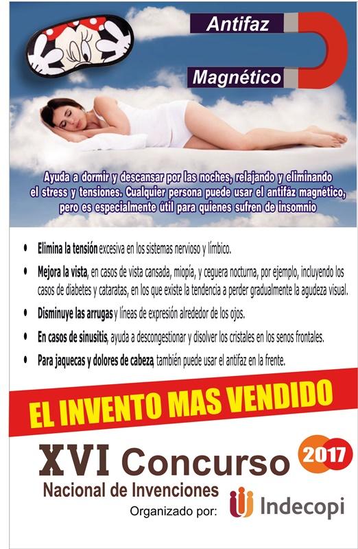 Antifaz magnetico para dormir