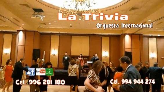 Orquesta música variada grupo musical matrimonios lima orquesta la trivia