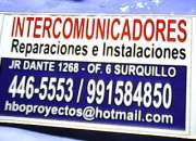 Intercomunicadores  intec