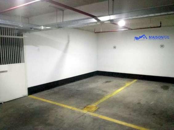 Vendo cochera 14 m2 san isidro ( c-634 )