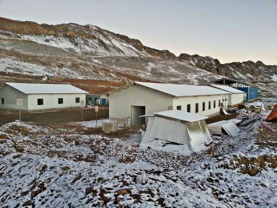 Campamentos y módulos mineros install peru sac