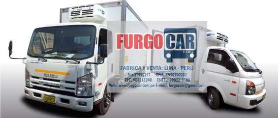 Fabricacion de furgones isotermicos y frigorificos lima norte