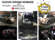 Vendo suzuki grand nomade 2003