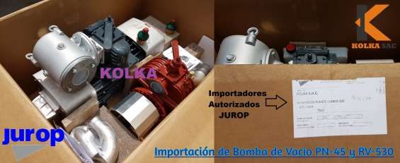 Venta de bombas de vacio y accesorios jurop