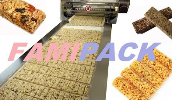 Maquinas para hacer barras de cereal