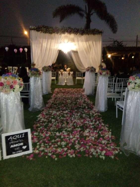 Lindo lugar para matrimonio huachipa