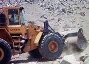 Tenemos cargadores,volquetes y excavadoras