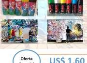 Oferta Especial!!!! Liquidación Total de Pinturas Spray colores variados