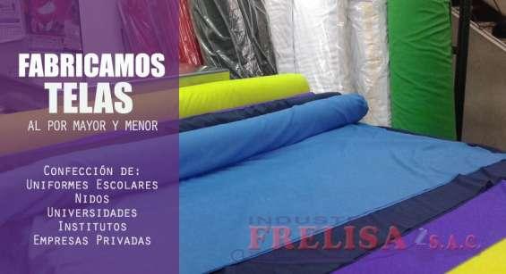 Industrias frelisa – fabricamos gran variedad de telas realizamos entregas en provincias.