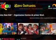 Eventos new kids – el show que deseas consulta y …