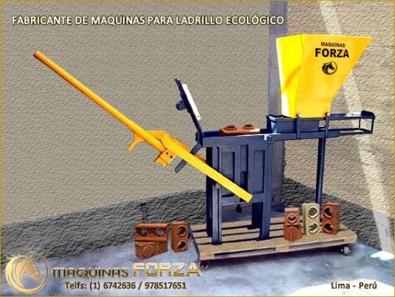 Maquinas ladrilleras para ladrillo ecologico
