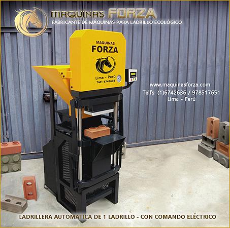 Maquinas forza – fabricante de maquinas para ladrillo ecológico